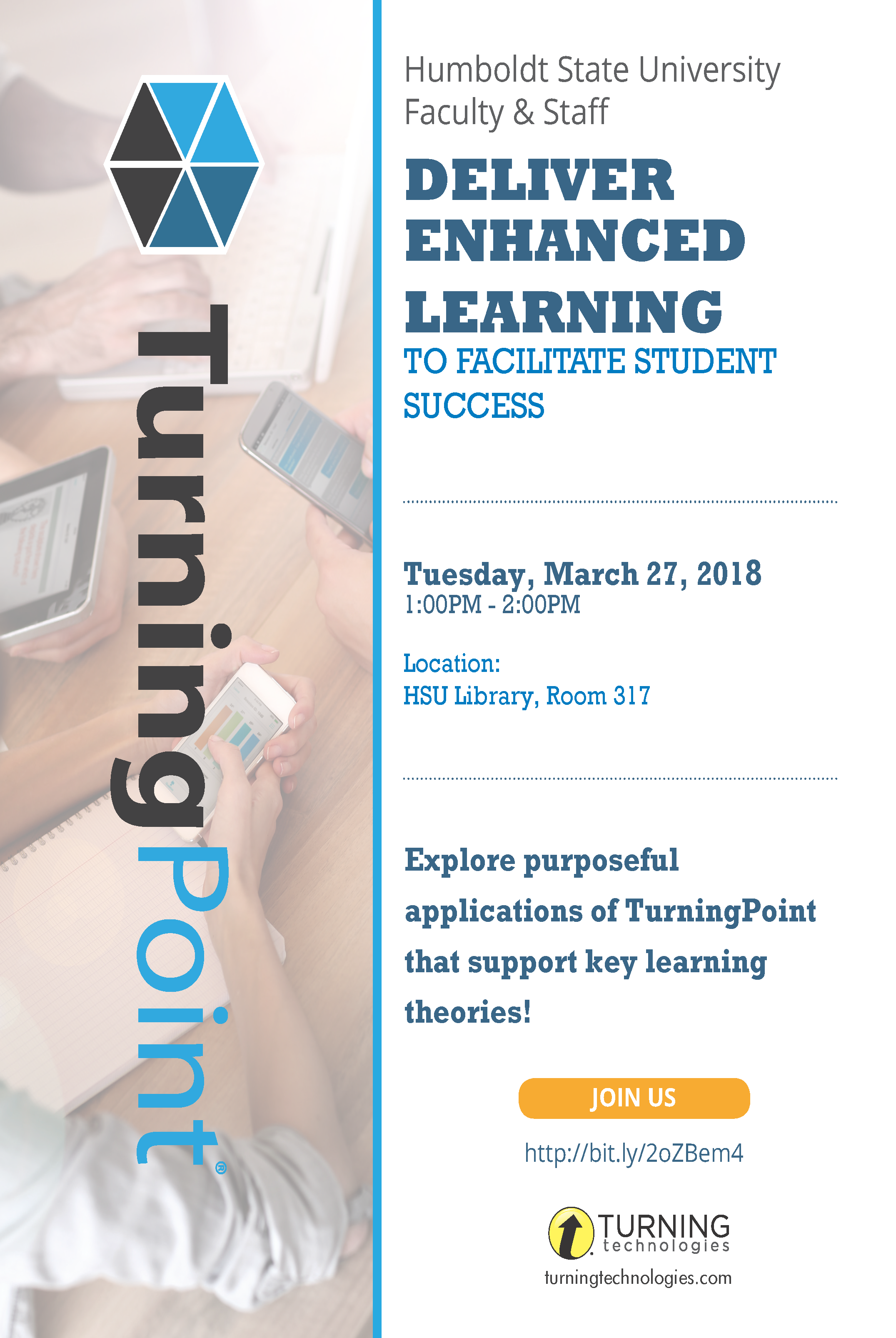 Enhanced Learning with TurningPoint Flyer